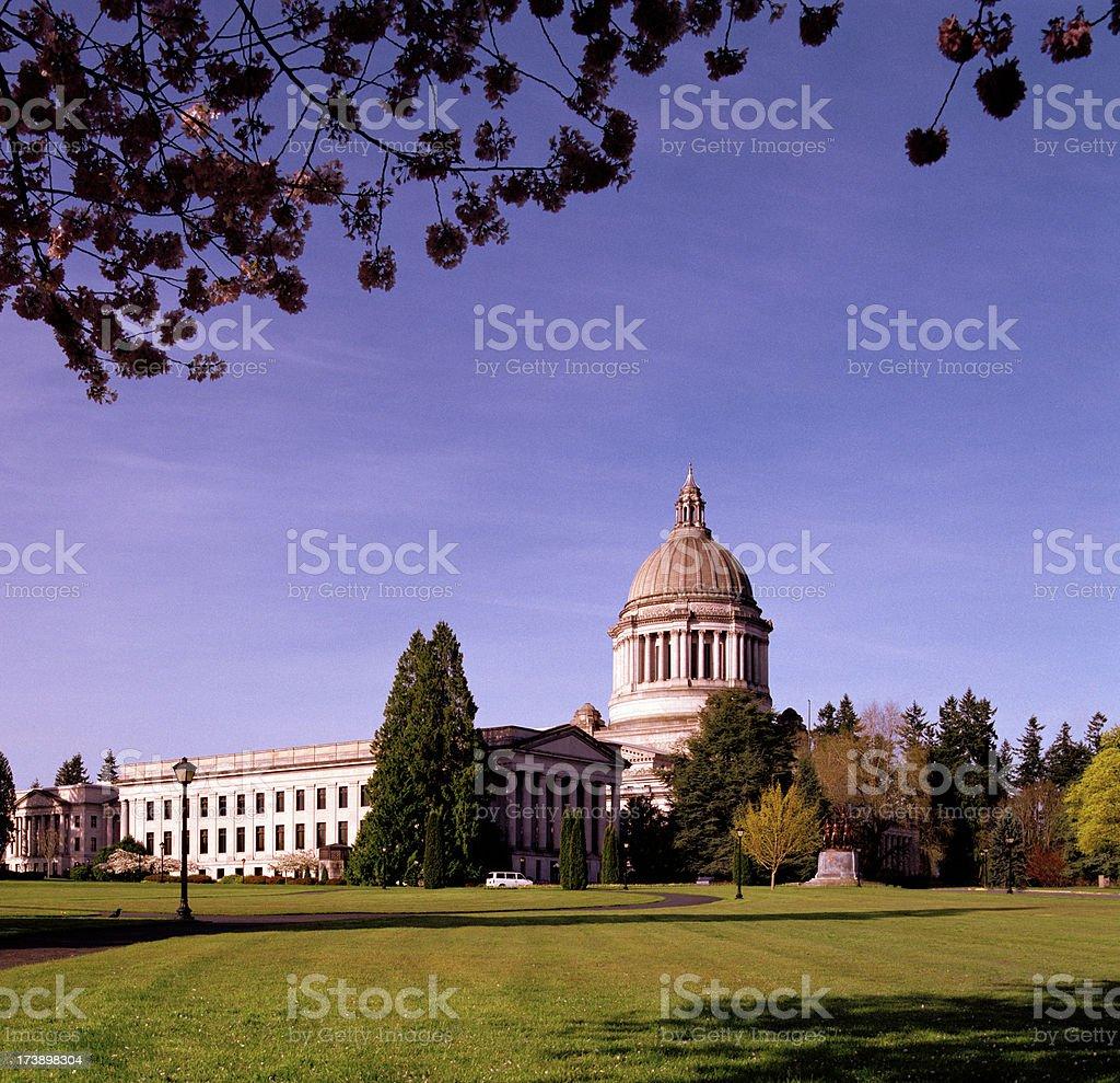 Washington State Capitol, Spring 2009 royalty-free stock photo
