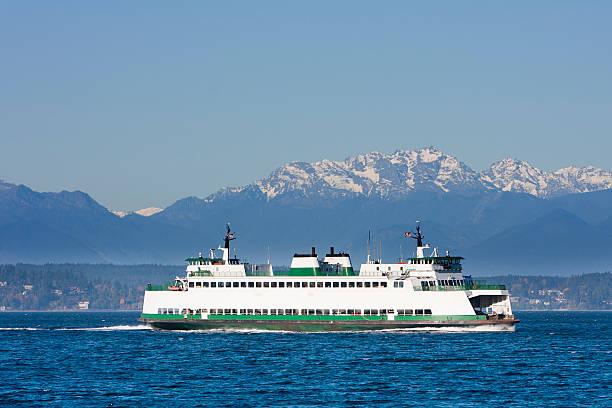 Washington State-Fähre über den Puget Sound – Foto