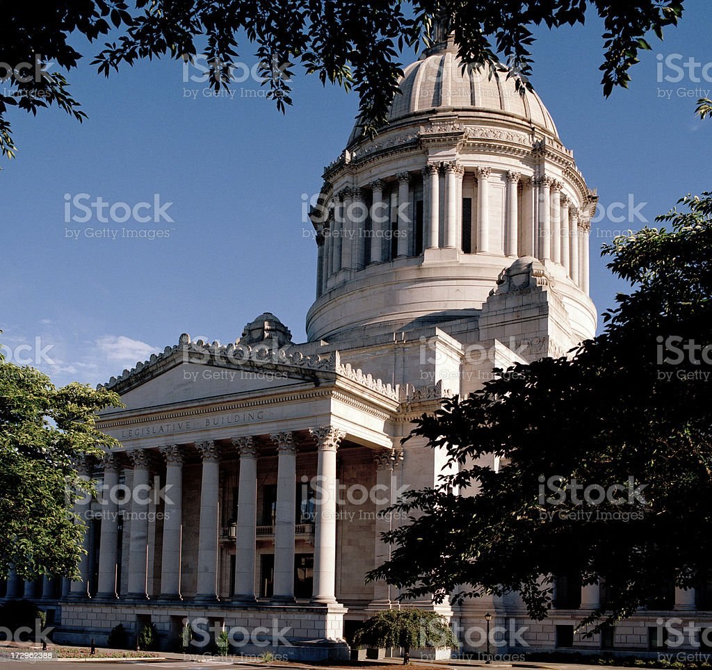 Washington State Legislative Building royalty-free stock photo