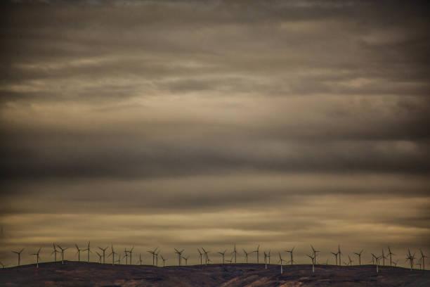 US-Bundesstaat Washington Windkraftanlagen – Foto