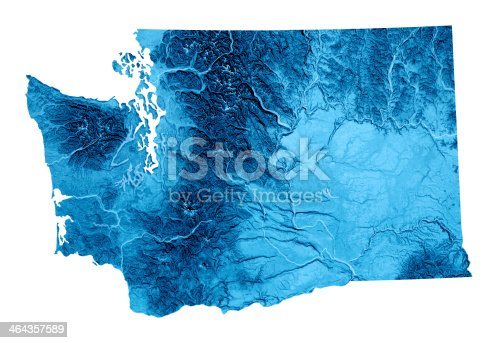 173169385istockphoto Washington Topographic Map Isolated 464357589