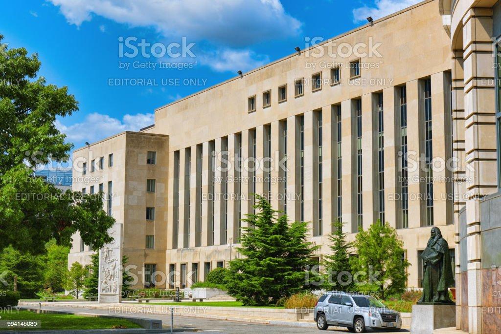 Washington, USA, District Court E. Barrett Prettyman United States Courthouse.
