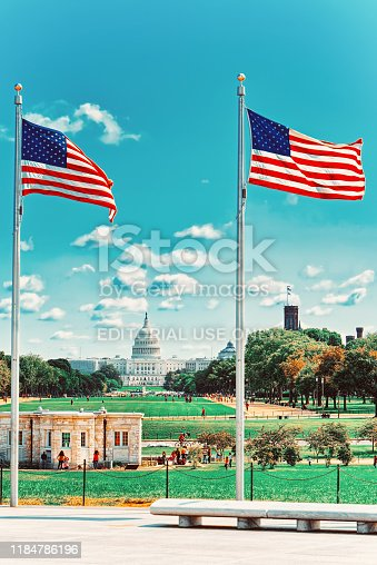 istock Washington, USA, United States Capitol, often called the Capitol Building. 1184786196