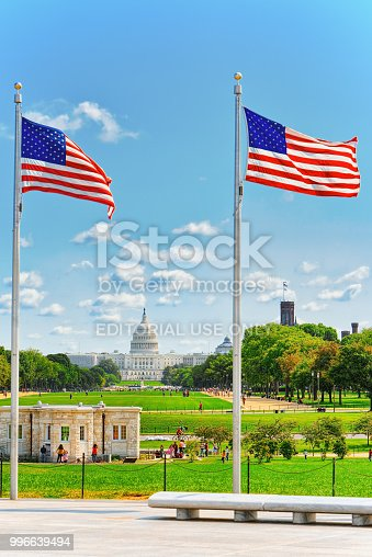 istock Washington, USA, United States Capitol, often called the Capitol Building. 996639494