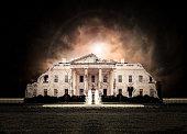 Washington White House Ruined