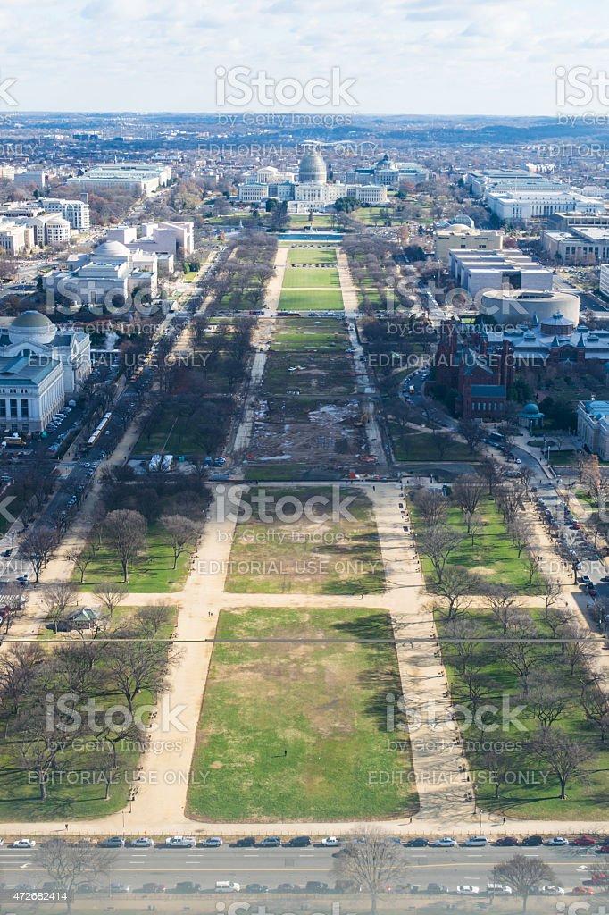 Washinton DC Capitol Building Row stock photo