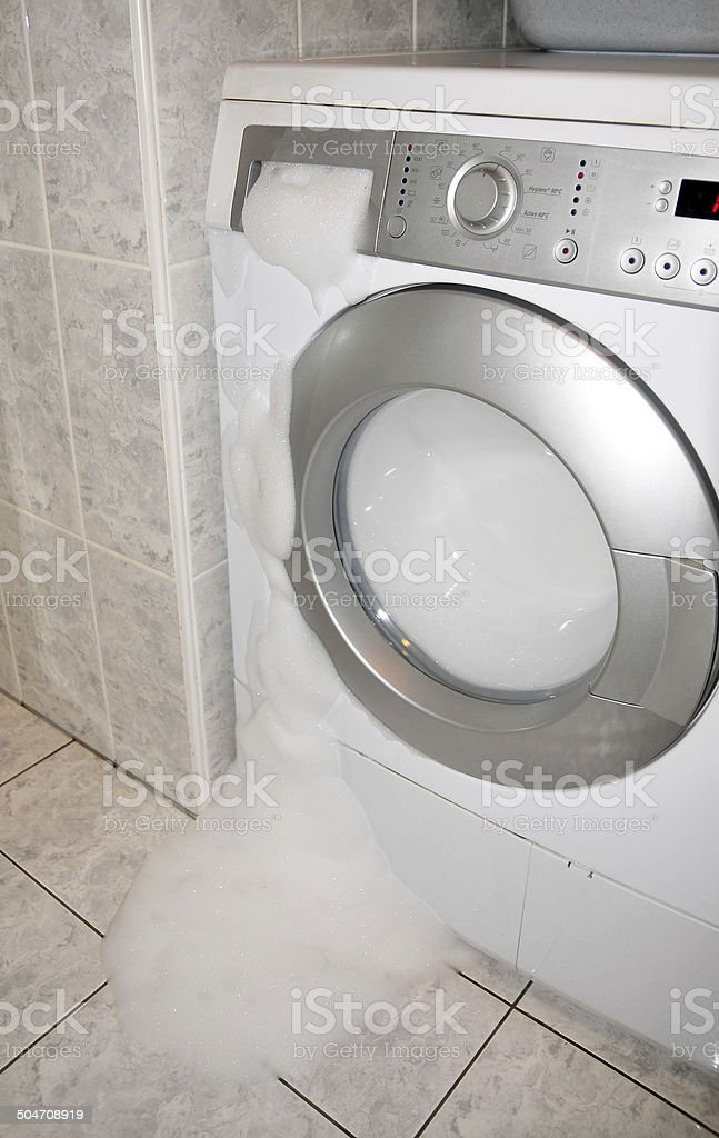 Washmachine stock photo