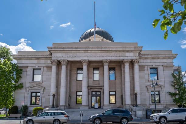 Washoe County Court House stock photo