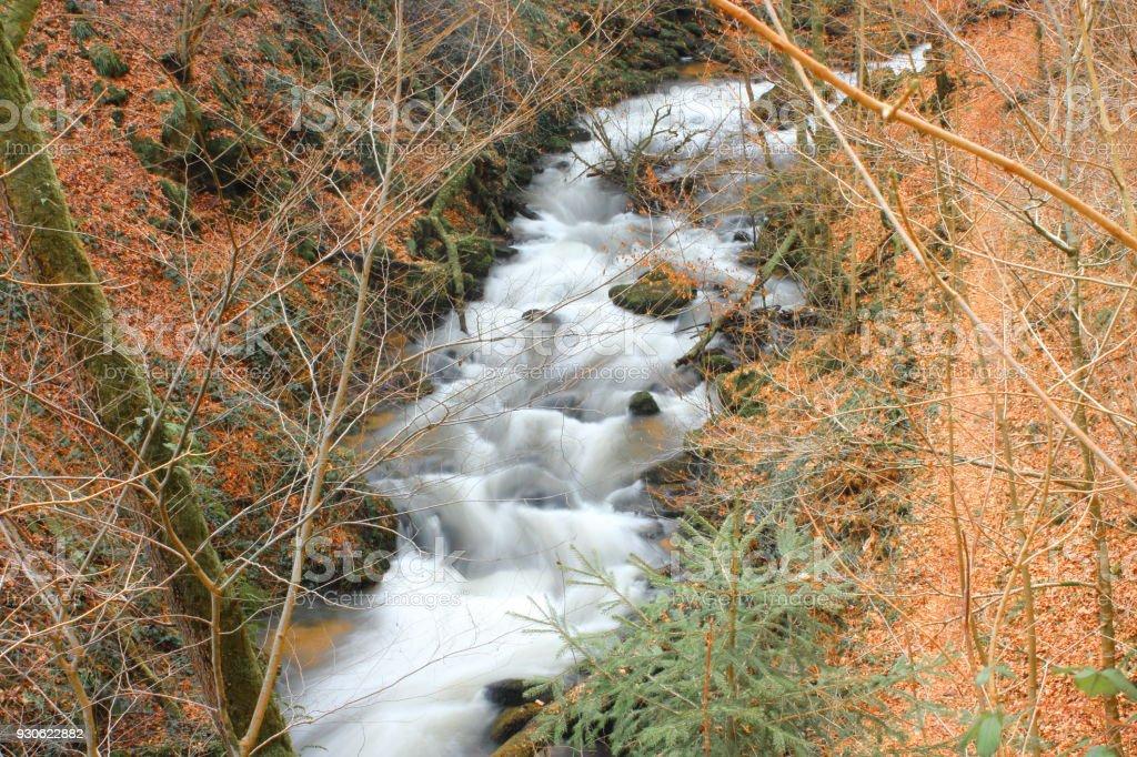 Wasserfall bei Laufenburg stock photo