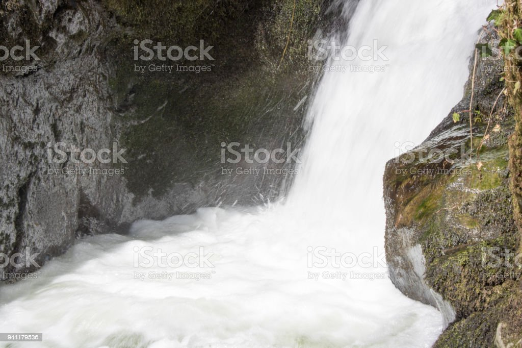 Wasserfall im Andelsbach, Laufenburg stock photo