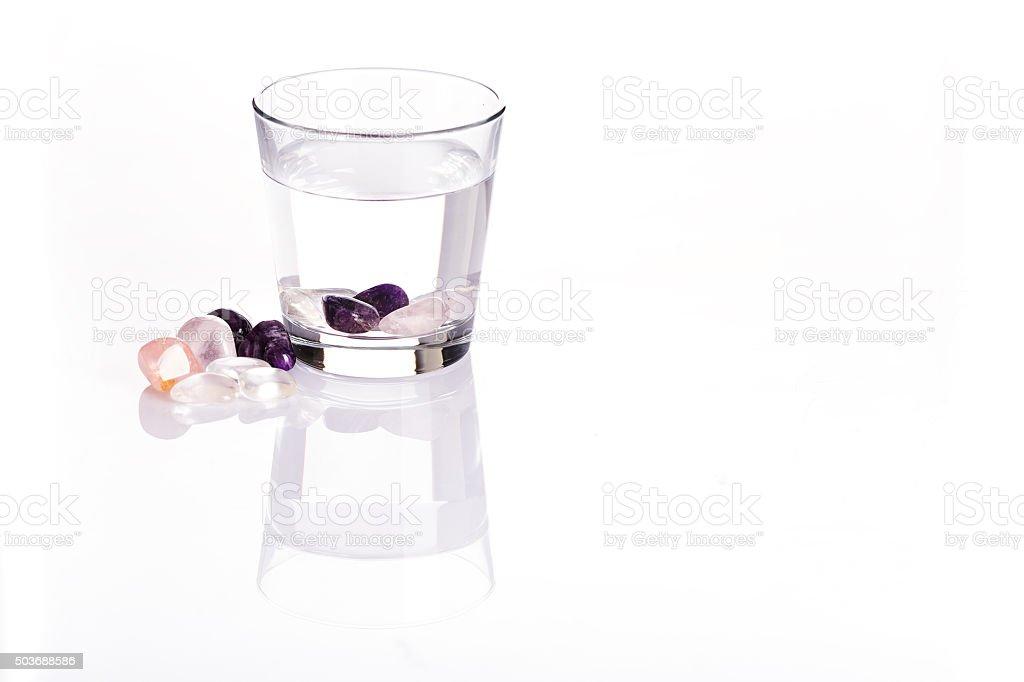 Wasserglas - Class of Water stock photo