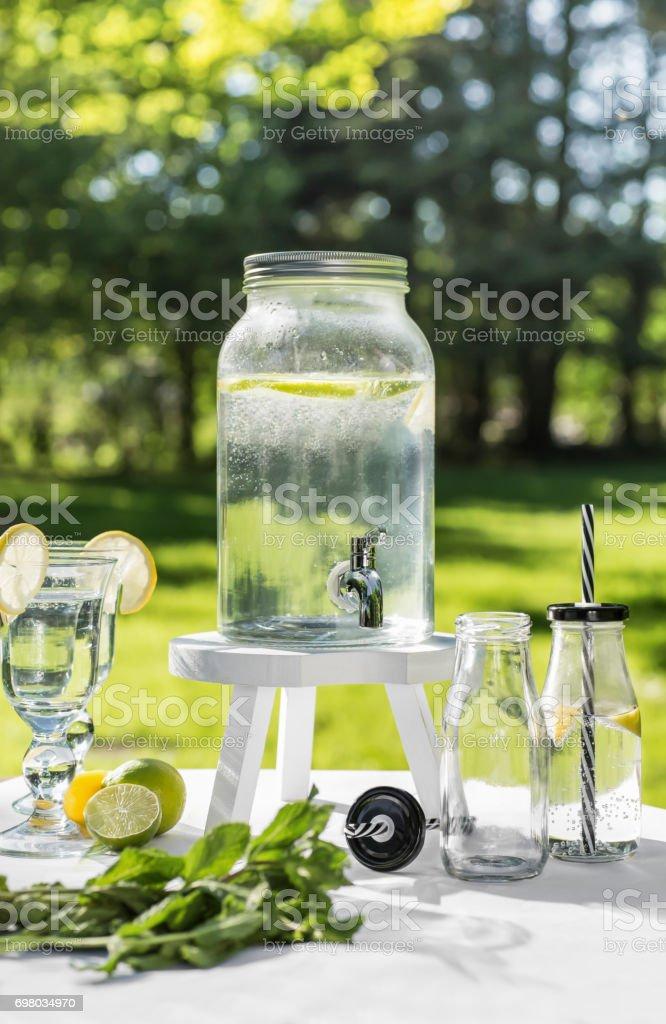 Wasserspender Im Garten – Foto