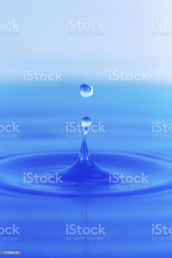 Wassertropfen 4 royalty-free stock photo