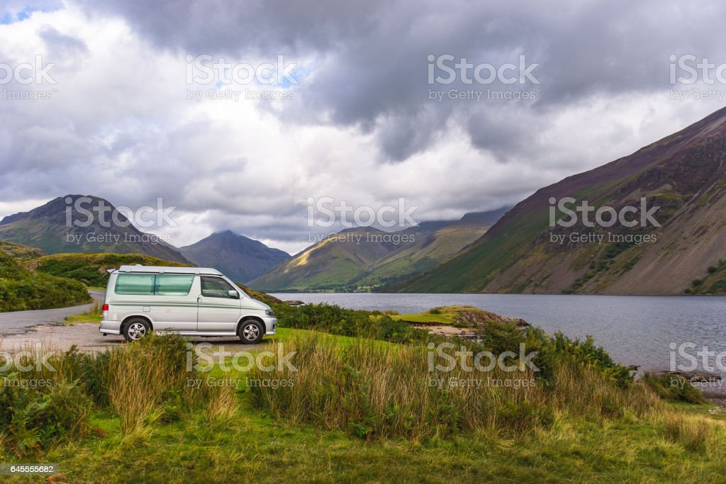 Wast Water in Lake District stock photo
