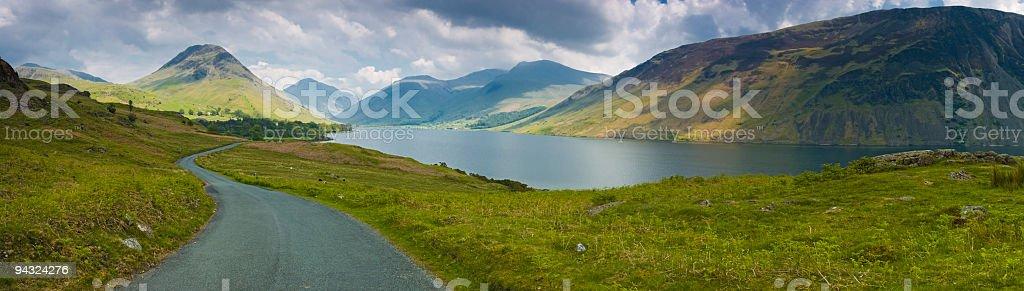 Wast Water, Lake District, UK royalty-free stock photo