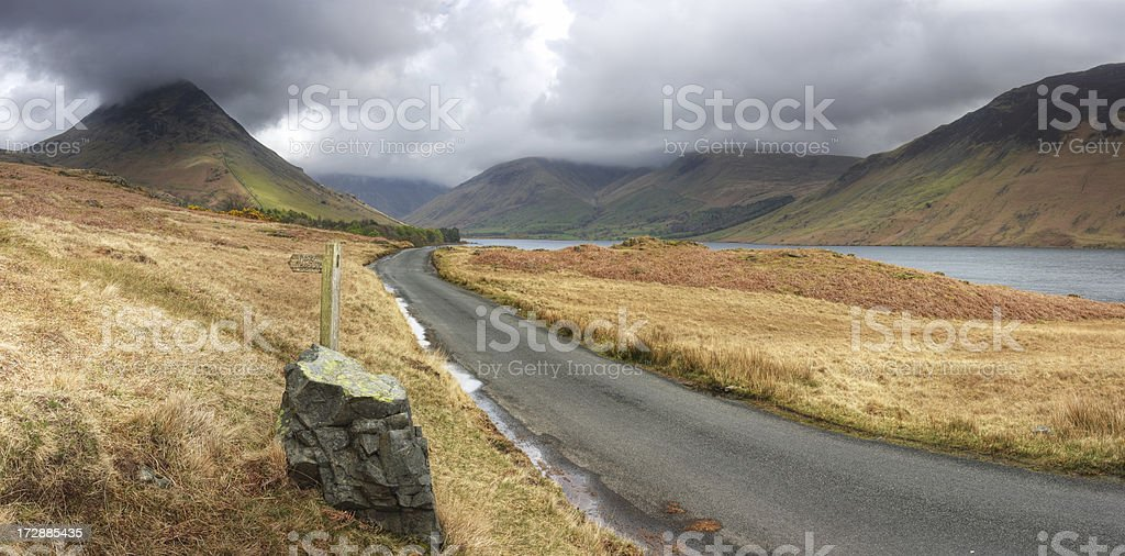Wast Water royalty-free stock photo