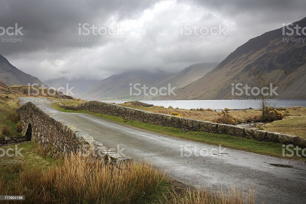 Wast Water stock photo
