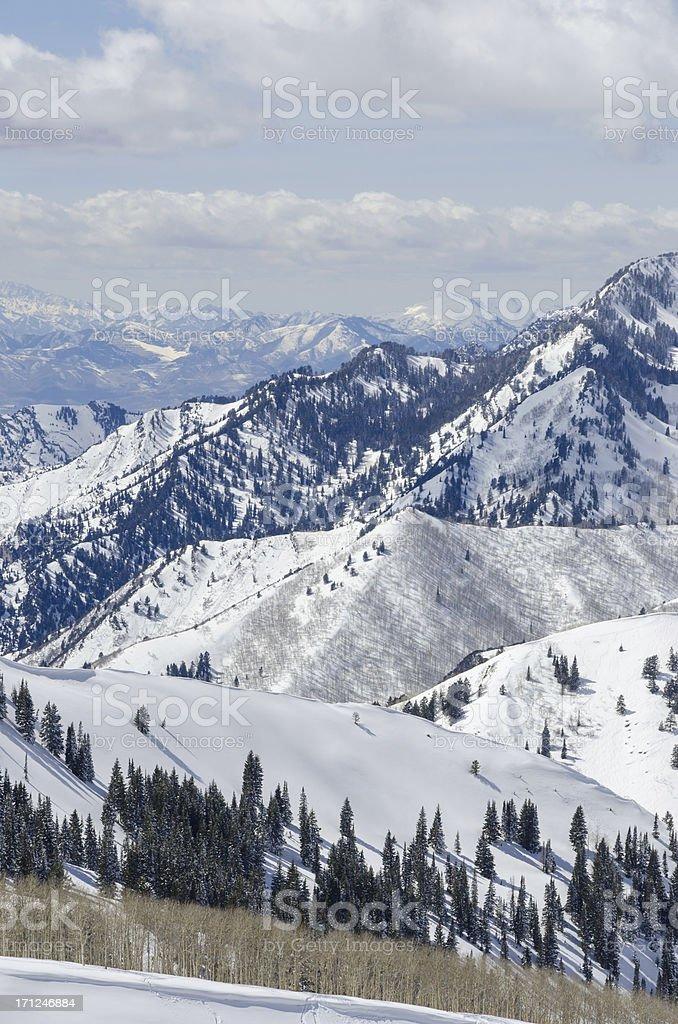 Wastach Mountain View stock photo