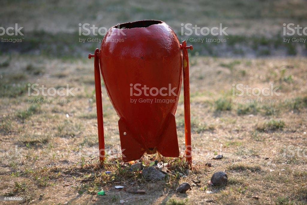 Atık kutusu royalty-free stock photo