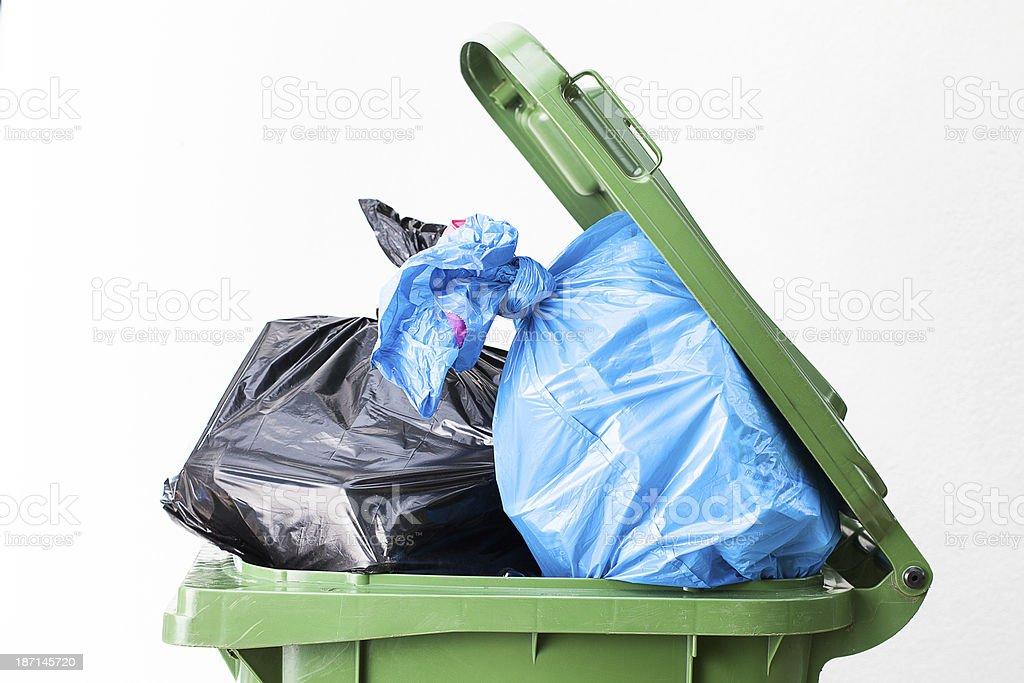 Müll bin top – Foto