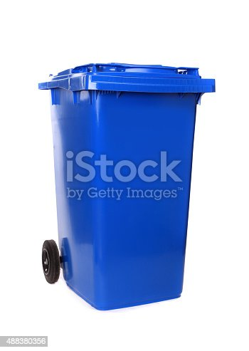 istock Waste container 488380356