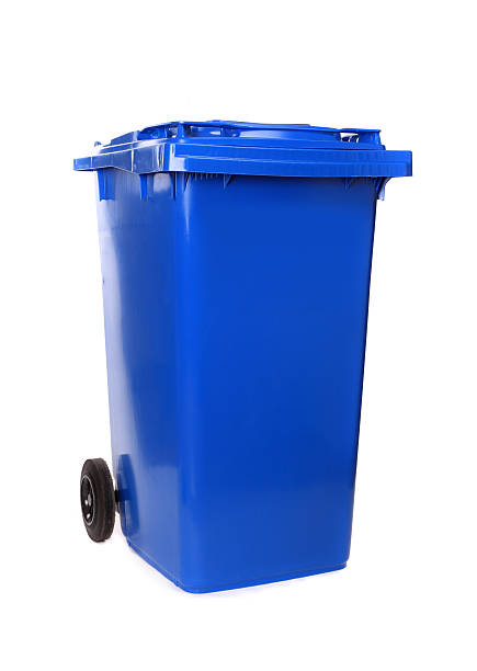 Waste container stock photo