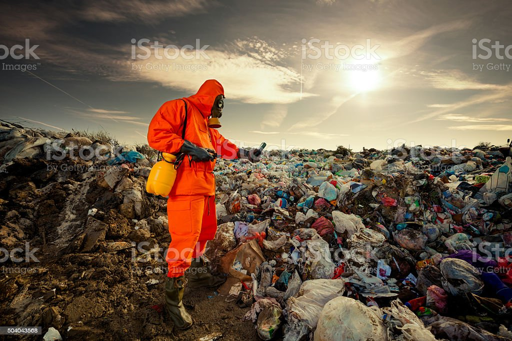 Waste Management stock photo