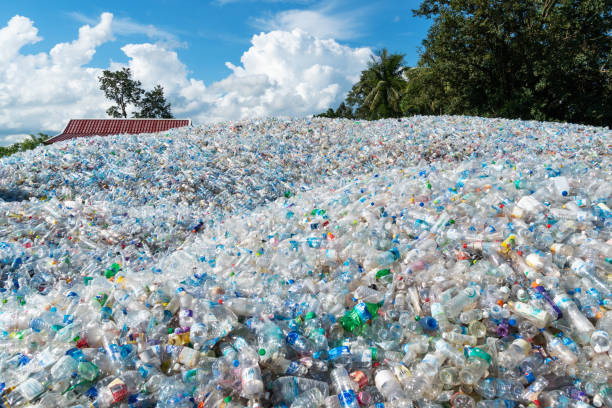 Waste Management Plastic stock photo