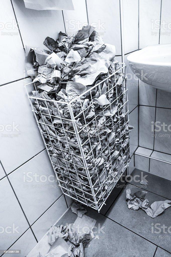 Desperdício de papel - foto de acervo