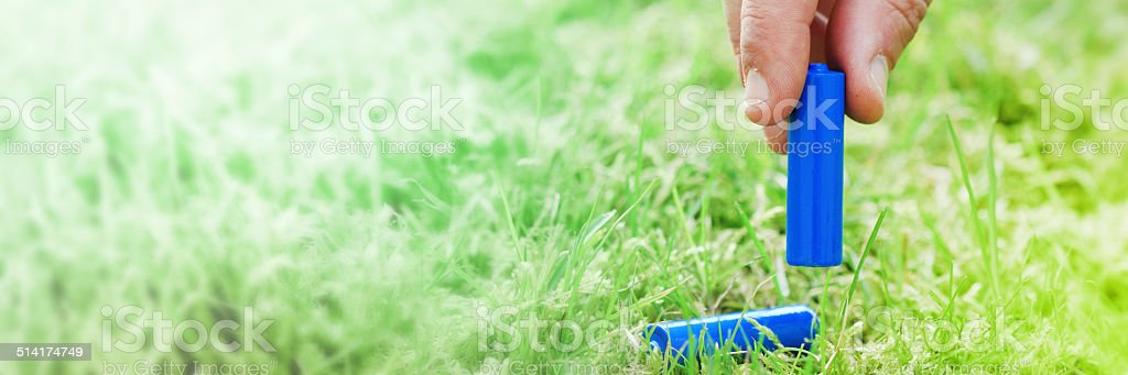 Waste pick up stock photo