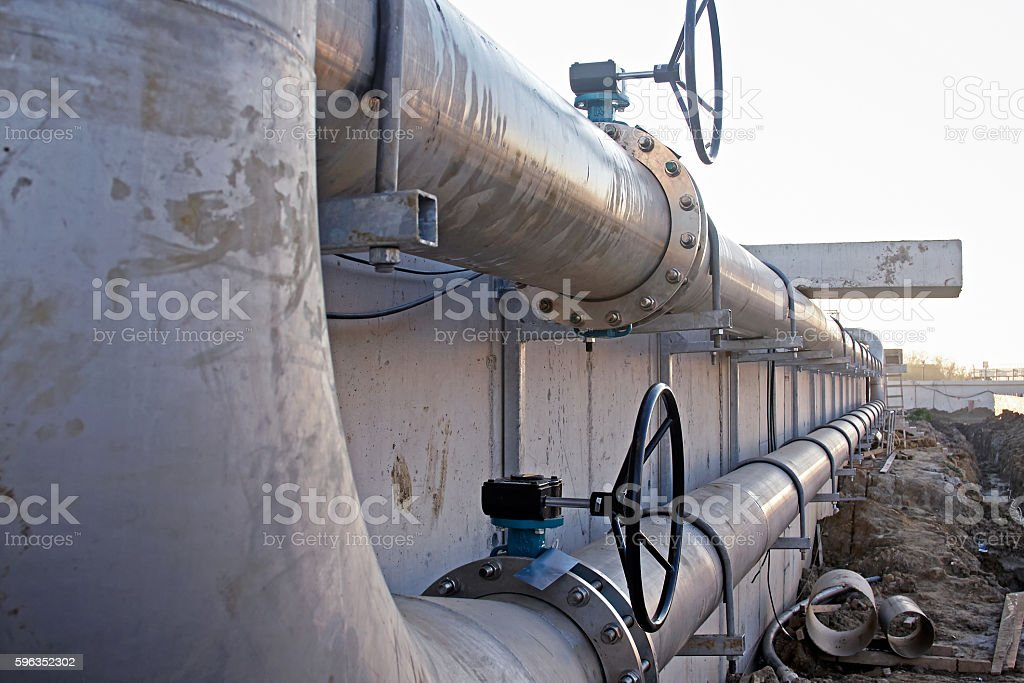 waste water treatment royalty-free stock photo