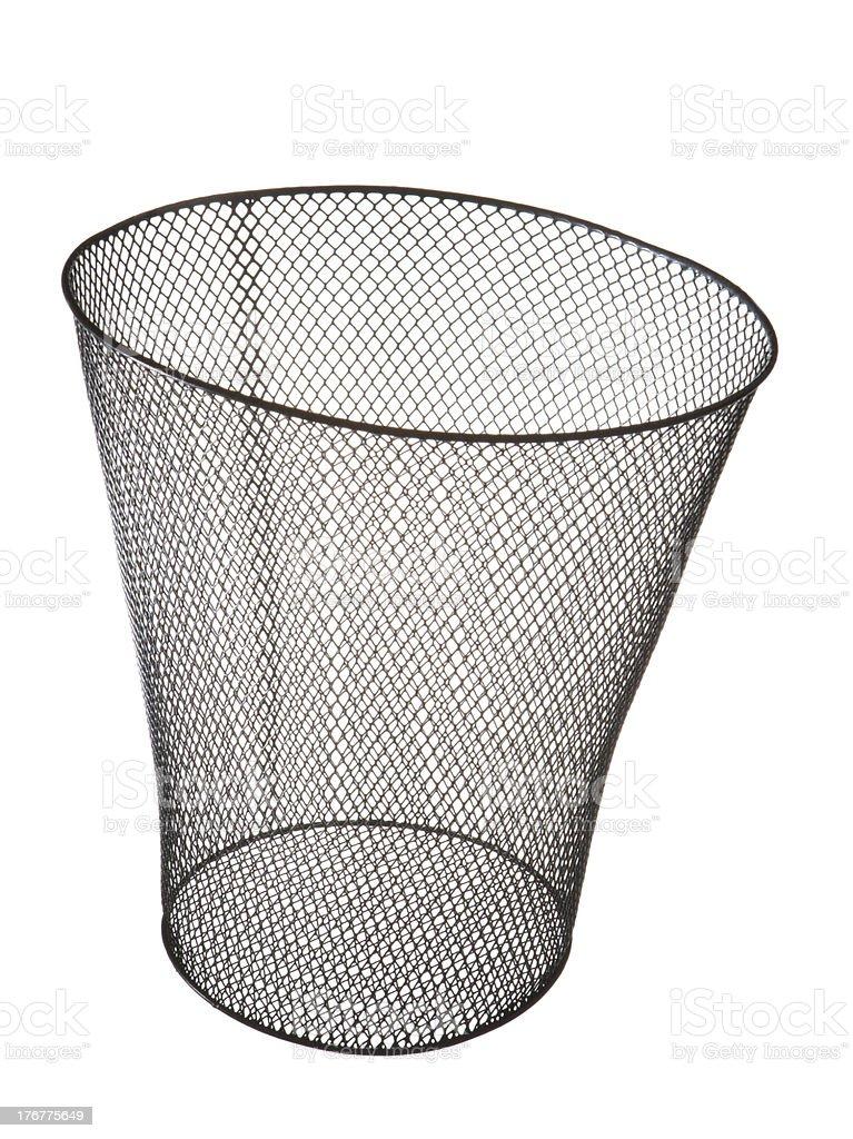 Wastebasket royalty-free stock photo