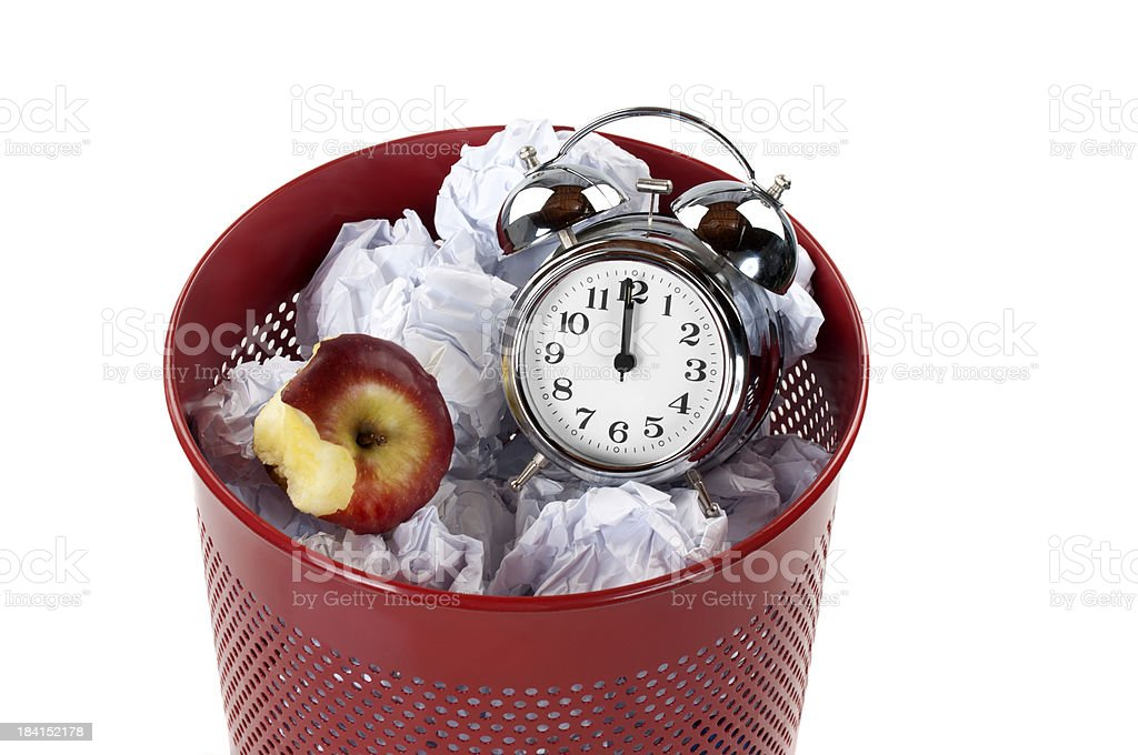 Wasting Time royalty-free stock photo