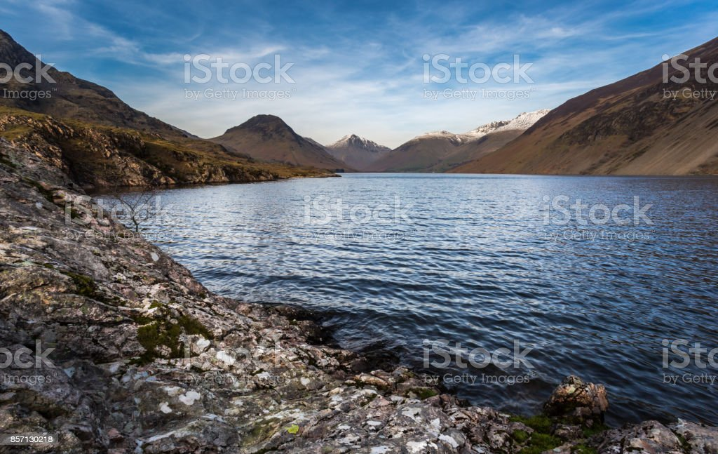 Wastwater View - Lake District stock photo