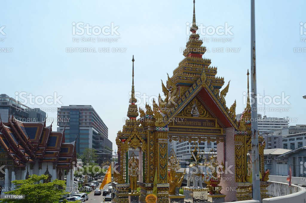 Wat Amarintharam stock photo