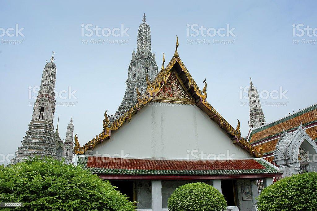Wat Arun - Bangkok royalty-free stock photo