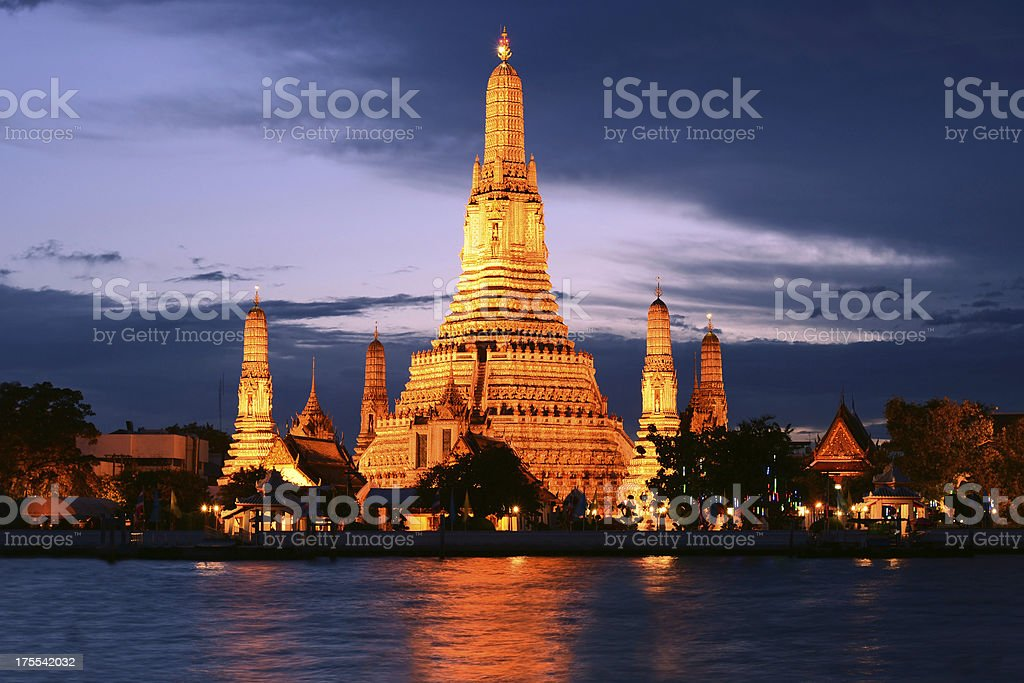 Wat Arun Bangkok (Temple of Dawn), Thailand royalty-free stock photo