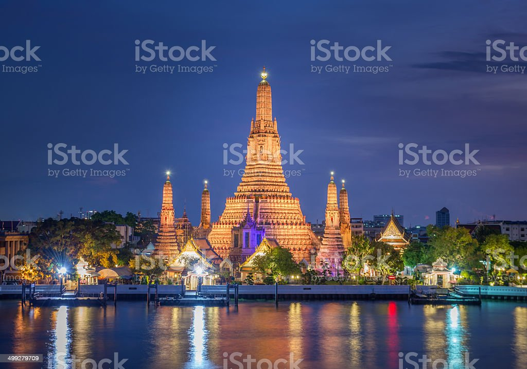 Wat Arun, Bangkok, Thailand stock photo