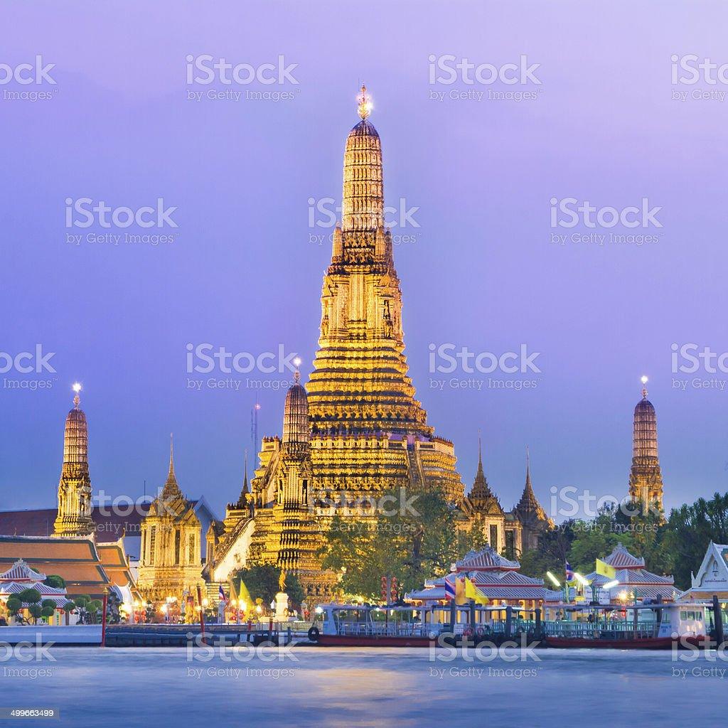 Wat Arun, Bangkok, Thailand. stock photo