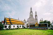 Famous Wat Arun in Bangkok,Thailand