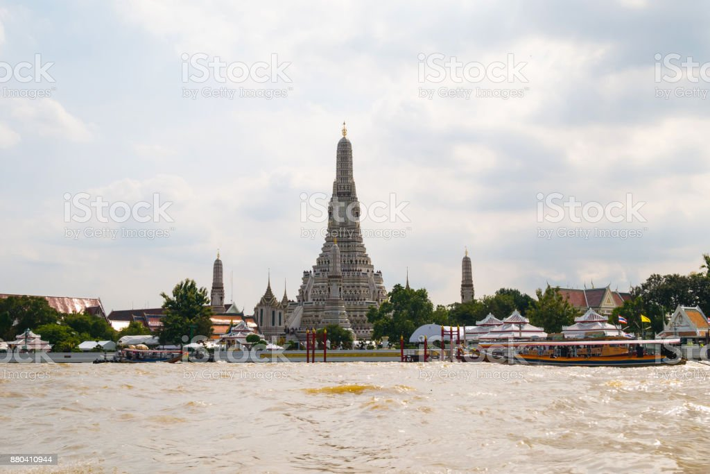 Wat Arun on the day time stock photo