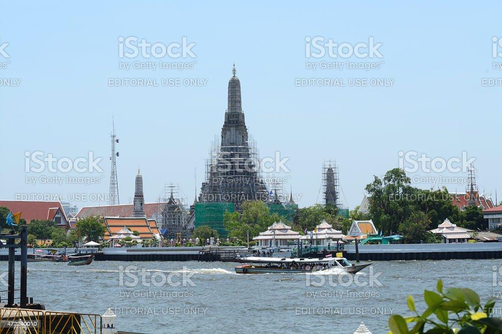 Wat Arun Rajwararam. stock photo