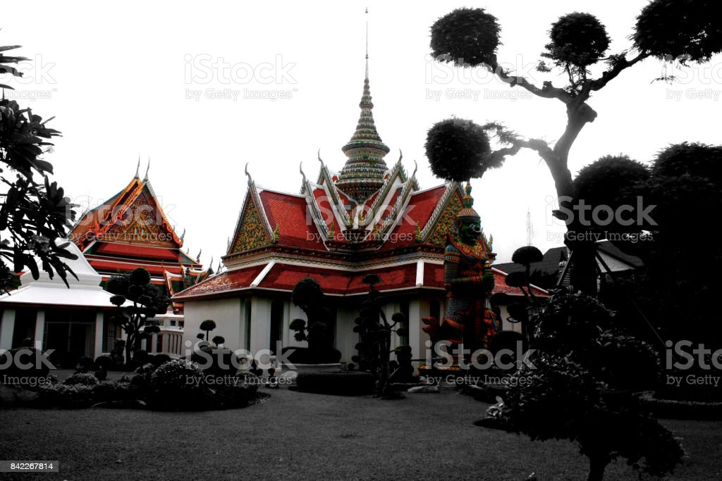 Wat Arun Surroundings stock photo