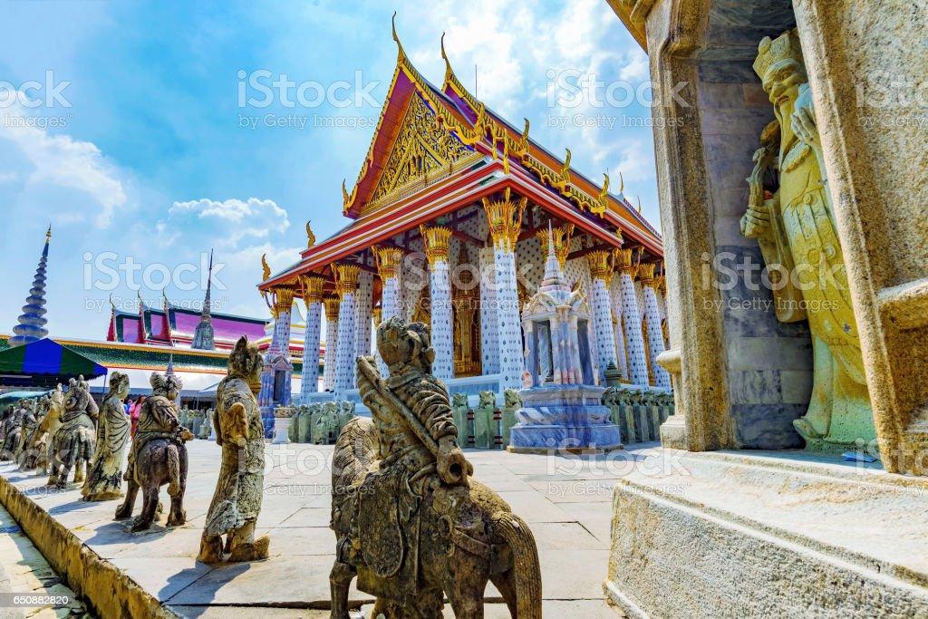 Wat Arun Temple architecture stock photo