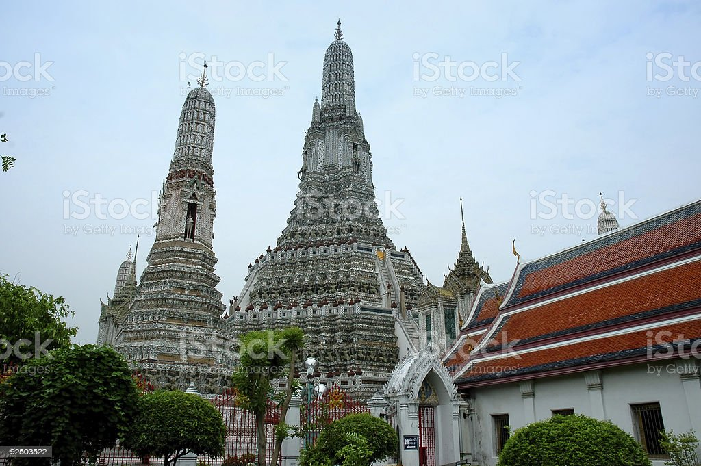 Wat Arun Temple - bangkok royalty-free stock photo