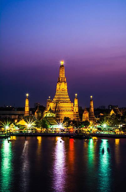 wat-arun-Tempel bangkok, thailand – Foto