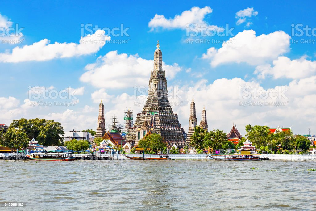 Wat Arun Temple - foto stock