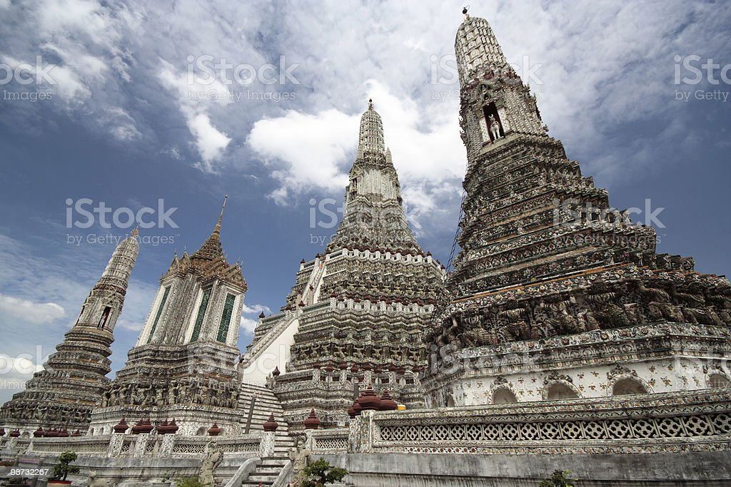 Wat Arun Temple royalty-free stock photo