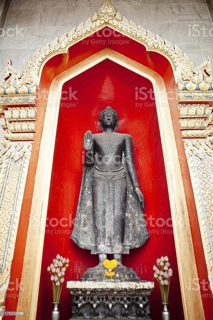 Wat Benchamabophit Dusitvanaram Detail royalty-free stock photo