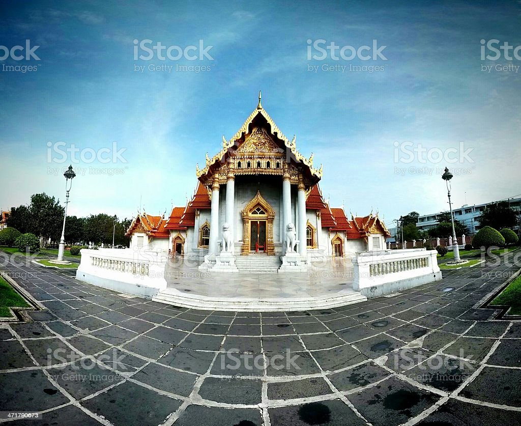 Wat Benchamabophit royalty-free stock photo
